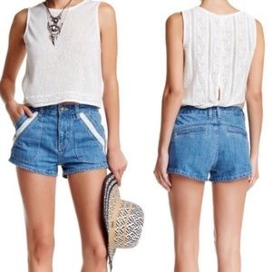 Free People Sweet Surrender high waisted shorts